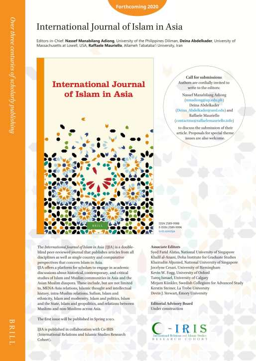 International Journal of Islam in Asia